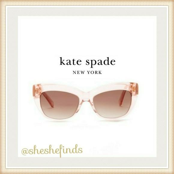 821f18d9f kate spade Accessories | Hp Womens Pink Cat Eye Sunglasses | Poshmark